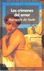 los crimenes del amor marques de sade 9788446003694