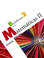 matematicas ii 2º bachillerato-9788466782494