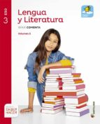 lengua y literatura comentada 3º eso mochila ligera volumenes ed 2015 9788468020594