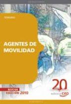 AGENTES DE MOVILIDAD. TEMARIO