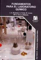 fundamentos para el laboratorio quimico-j.a badenes-9788480217194