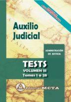 auxilio judicial (vol. iii): tests jose luis ramos cejudo manuel segura ruiz 9788482194394