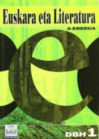 euskara eta literatura a eredua (1dbh) 9788483252994