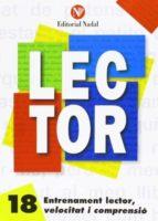 entrenament lector, velocitat i comprensió nº 18 lletra d´imprent a c.s. 9788486545994
