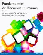 fundamentos de recursos humanos (2ª ed.) mª carmen de la calle marta ortiz 9788490354094