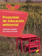 programas de educación ambiental paz  lassalle, matthieu gresa vicente 9788491710394