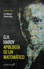 apologia de un matematico g.h. hardy 9788494740794