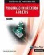 programacion orientada a objetos. mf0227_3:-juan carlos moreno perez-9788499645094