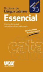 diccionari essencial de llengua catalana-9788499741994