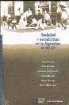Sociedad y sociabilidad en la argentina de los 90 FB2 TORRENT por Luis et al. beccaria 978-9507863394
