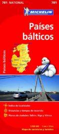 PAISES BALTICOS 2012 (REF. 781) (MAPAS NATIONAL) - 9782067173804 - VV.AA.