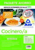 PAQUETE AHORRO COCINERO/A DEL SERVICIO EXTREMEÑO DE SALUD (INCLUYE TEMARIO COMUN Y TEST; TEMARIOS ESPECIFICOS 1 Y 2; TEST TEMARIO ESPECIFICO Y ACCESO A CAMPUS ORO) - 9788414211304 - MAD
