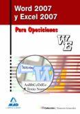 WORD Y EXCEL 2007. MANUAL - 9788467637304 - IVAN ROCHA FREIRE