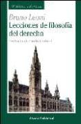 LECCIONES DE FILOSOFIA DEL DERECHO - 9788472094604 - BRUNO LEONI