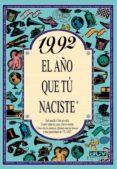 1992 EL AÑO QUE TU NACISTE - 9788489589704 - ROSA COLLADO BASCOMPTE