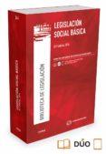 CIVITAS: LEGISLACION SOCIAL BASICA (35ª ED.) - 9788491357704 - JOSE E. SERRANO MARTINEZ