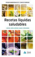 RECETAS LIQUIDAS SALUDABLES - 9788497358804 - EDGAR BARRIONUEVO