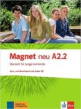 MAGNET NEU A2.2:  ALUMNO + EJERCICIOS + CD - 9783126761314 - VV.AA.