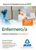 ENFERMERO/A DEL SERVICIO EXTREMEÑO DE SALUD (SES): TEMARIO ESPECIFICO (VOL. 2) - 9788414211014 - VV.AA.
