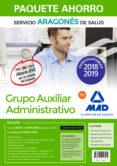 PAQUETE AHORRO AUXILIAR ADMINISTRATIVO DEL SERVICIO ARAGONÉS DE SALUD