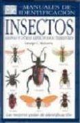 INSECTOS, MANUALES DE IDENTIFICACION - 9788428212014 - GEORGE C. MCGAVIN