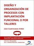 DISEÑO Y ORGANIZACIÓN DE PROCESOS CON IMPLANTACIÓN FUNCIONAL O POR TALLERES (EBOOK) - 9788499693514 - LLUIS CUATRECASAS ARBOS