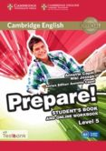 CAMBRIDGE ENGLISH PREPARE! 5 STUDENT S BOOK AND ONLINE WORKBOOK WITH TESTBANK - 9781107497924 - VV.AA.