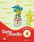 CALCULO SIETE Y MEDIO 4 (BAOBAB) - 9788430778324 - VV.AA.