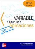 VARIABLE COMPLEJA Y SUS APLICACIONES (7ª ED.) - 9788448142124 - VV.AA.
