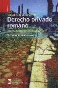 DERECHO PRIVADO ROMANO (15ª ED.) - 9788496062924 - MANUEL JESUS GARCIA GARRIDO