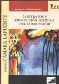 CONTRATOS Y PROTECCION JURIDICA DEL CONSUMIDOR - 9789563923124 - SERGIO CAMARA LAPUENTE