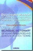 diccionario bilingue de terminos de recursos humanos y administra cion-fernando ayala espinosa-9789681871734