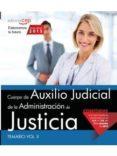 CUERPO DE AUXILIO JUDICIAL DE LA ADMINISTRACIÓN DE JUSTICIA. TEMARIO VOL. II. - 9788468165844 - VV.AA.