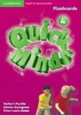 QUICK MINDS LEVEL 4 FLASHCARDS SPANISH EDITION - 9788483234044 - VV.AA.