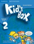 KID S BOX 2 FOR SPANISH SPEAKERS ACTIVITY BOOK WITH CD-ROM AND LANGUAGE PORTFOLIO 2ND EDITION - 9788483239544 - VV.AA.