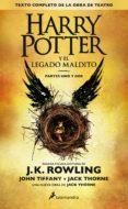 HARRY POTTER Y EL LEGADO MALDITO - 9788498387544 - J.K. ROWLING