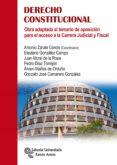 DERECHO CONSTITUCIONAL: OBRA ADAPTADA AL TEMARIO DE OPOSICION PARA EL ACCESO  A LA CARRERA JUDICIAL Y FISCAL - 9788499612744 - VV.AA.