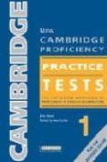NEW CAMBRIDGE PROFICIENCY PRACTICE TESTS 1 PACK (WITH CD + KEY) - 9789604035144 - JAIN COOK