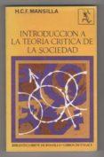 Descarga gratuita Introducción a la teoría crítica de la sociedad Epub
