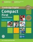 COMPACT FIRST SECOND EDITION STUDENT S BOOK PACK (STUDENT S BOOK WITH ANSWERS WITH CD-ROM AND CLASS AUDIO CDS(2)) - 9781107428454 - VV.AA.