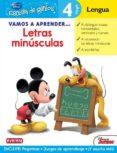 VAMOS A APRENDER LETRAS MINUSCULAS (ESCUELA DE GENIOS) - 9788444146454 - VV.AA.