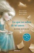 LO QUE NO SABES DE MI AMOR - 9788490328354 - DELPHINE BERTHOLON
