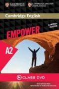 CAMBRIDGE ENGLISH EMPOWER ELEMENTARY CLASS DVD - 9781107466364 - VV.AA.