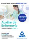 AUXILIAR DE ENFERMERÍA DE OSAKIDETZA-SERVICIO VASCO DE SALUD. TEM ARIO GENERAL VOL. 3 - 9788414215364 - VV.AA.