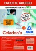 PAQUETE AHORRO CELADOR/A DEL SERVICIO ANDALUZ DE SALUD (INCLUYE TEMARIO COMUN, TEMARIO ESPECIFICO, TEST Y SUPUESTOS    PRACTICOS, SIMULACROS DE EXAMEN Y ACCESO CAMPUS ORO) - 9788414223864 - VV.AA.
