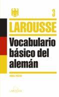 VOCABULARIO BASICO DEL ALEMAN - 9788415411864 - VV.AA.