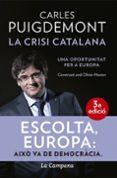LA CRISI CATALANA: UNA OPORTUNITAT PER A EUROPA - 9788416863464 - CARLES PUIGDEMONT