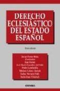 DERECHO ECLESIASTICO DEL ESTADO ESPAÑOL (6ª ED.) - 9788431324964 - VV.AA.