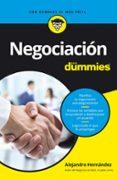NEGOCIACION PARA DUMMIES - 9788432903564 - ALEJANDRO HERNANDEZ