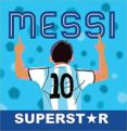 MESSI SUPERSTAR - 9789874616364 - VV.AA.